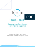 FORUM Strategic Plan 26.1.10
