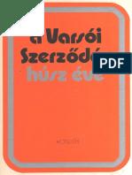 A Varsói Szerződés Húsz Éve