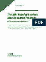 The IRRI Rainfed Lowland Rice Research Program