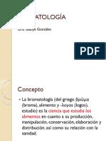 Bromatología Historia
