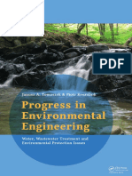 L-2015-Progress in Environmental Engineering Water, Wastewater Treatment and Environmental Protection by Tomaszek
