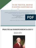 Textos y Mapas Historicos Desde La Independencia de Los EEUU Hasta Las Unificaciones de Italia y Alemania