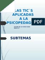 TIC'S APLICADAS A LA PEDAGOGIA