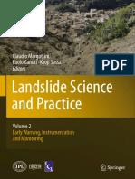 Landslide Science and Practice Volume 2