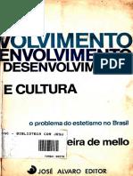 Mario Vieira de Mello - Desenvolvimento e Cultura