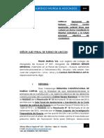 Habeas Corpus Prision Preventiva