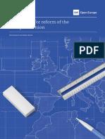 A Blueprint for Reform of the EU