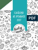 Catálogo Holy Nuts 2017 - Maio 2017