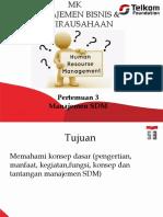 Pertemuan 3 Manajemen SDM STT