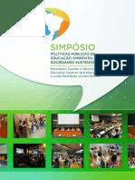 Anais Simpósio Políticas Públicas de Educação Ambiental