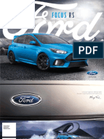 Brosura Ford Focus RS