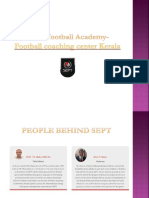 People Behind SEPT - Football Nursery