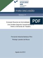 Evolução Recente Da Informalidade No Brasil 19-07-2012 - PDF (1)