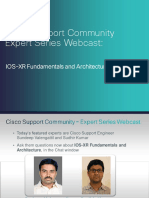 Webcast Ios-xr Fundamentals Architecture