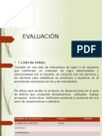 Intrumentos de Evaluacion Dispositivas