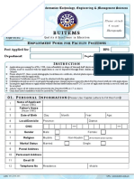 Faculty Form 2017