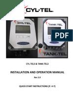 R-pramarketingliteraturemanuals20544482 Cyl-tel3tank-Tel3 User Manual - Rev 2
