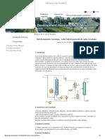 La tecnología de hidrotratamiento de la nafta de coquización