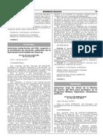 Autorizan inafectación del IGV respecto a la prestación de servicios culturales de la Asociación Civil Castillo de Chancay