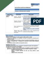 SESION DE APRENDIZAJE COMUNICACION 2DO GRADO