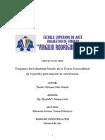 Proyecto Final 2017 - Peru Danzante