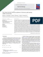 Hydrometallurgy Volume 101 issue 1-2 2010 [doi 10.1016_j.hydromet.2009.11.009] Natal'ya V. Fomchenko; Maxim I. Muravyov; Tamara F. Kondrat'eva -- Two-stage bacterial–chemical oxidation of refractory