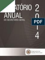 RELATORIO OEA 2014