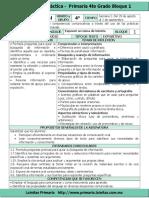 Plan 4to Grado - Bloque 1 Español (2016-2017).doc