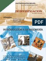 Historia Ing. CIVIL