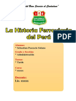 Monografia El Ferrocarril Peruano