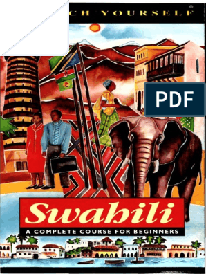 Joan Russell Swahili Teach Yourself Swahili Language Tanzania