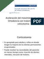 Aceleracion del movimiento dental