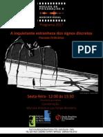 Cartaz Núcleo Psicanálise Audiovisual 2017 VERSAO 2