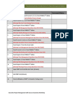 Executive PMP Exam Roadmap