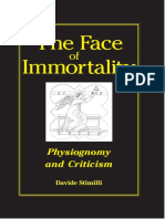 Stimilli, Davide. The Face of Immortality - Physiognomy and Criticism