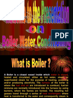 Boiler Water Conditioning