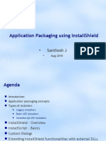 Application Packaging Using Install Shield