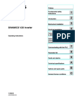 Frequency converter Siemens Sinamics V20