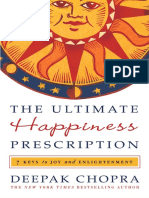 w Deepak Chopra the Ultimate Happiness Prescription