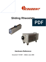 128 Coudoint Sliding Rheostats Documentation