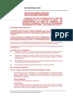 Especificaciones Tecnicas Sanitarias.docx