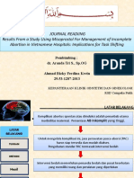 Journal Misoprostol