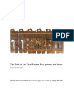 EGYPTIAN the Book of the Dead Project Past Present and Future 2010