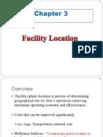 3. Facility Location
