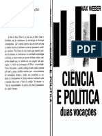 WEBER. Ciência e Política