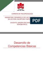Desarrollo de las competencias de lenguaje y matemáticas ppt 1