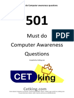 501 Must Do Computer Awareness Questions for IBPS SSC Other Exams