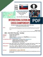 International Slovak Amateur Chess Championship 2017 (20.-23.7.2017)