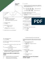Formulario Curva