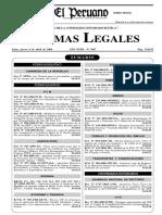 Ley 28705 Prevencion Consumo Del Tabaco